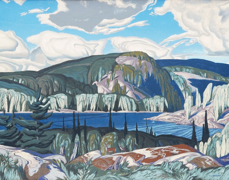 Algonquin Provincial Park By Alfred Joseph Casson At Cowley Abbott
