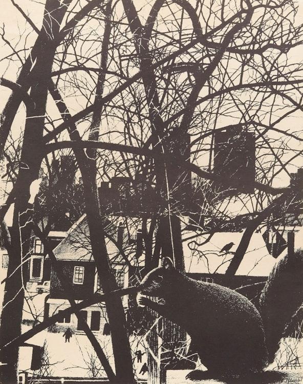 Artwork by Christiane Pflug,  The Squirrel