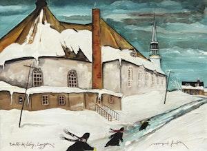 Artwork by Normand Hudon, Pointe-de-Levy, Lauzon