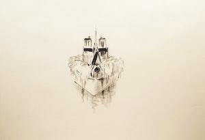 Artwork by Wanda Koop, Notre Dame