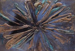Artwork by Harold Elmer Feist, Untitled Composition