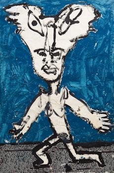 Artwork by John Scott, Untitled Figural Study