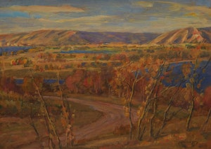 Artwork by James Henderson, Qu'Appelle Valley