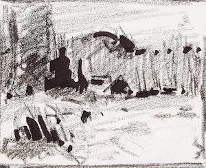 Artwork by Bruno Côté, Quebec landscape studies