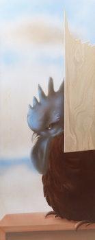 Artwork by Louis de Niverville, Untitled (Rooster)