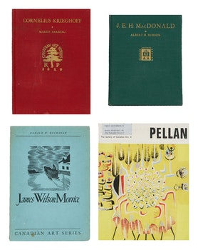 Artwork by  Books and Reference, 150+ Exhibition Catalogues on Canadian Artist's and Galleries