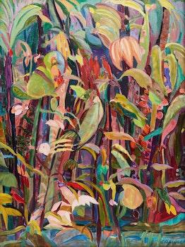 Artwork by Audrey Garwood, Birds #4