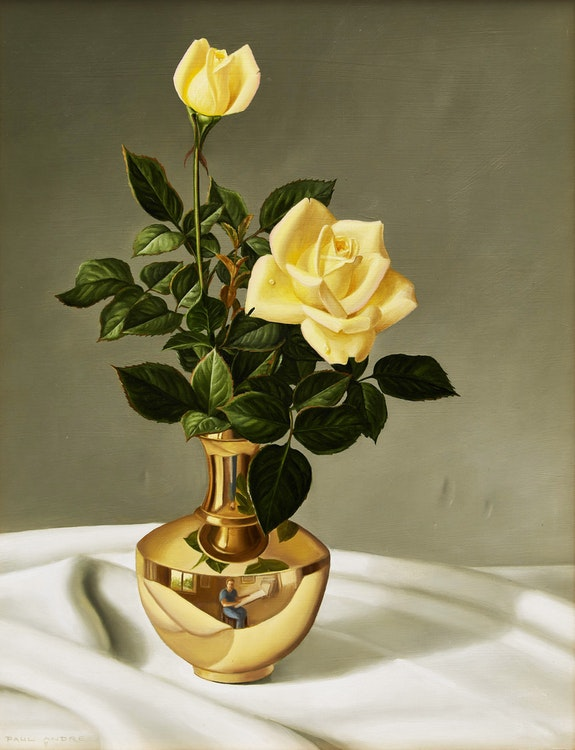Artwork by Paul André,  Floral Still Life