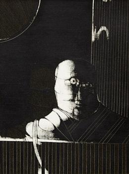 Artwork by Jan Menses, Kardish Series #58