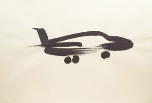 Artwork by Wanda Koop, Airplane