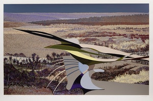 Artwork by Ivan Kenneth Eyre, Field Point