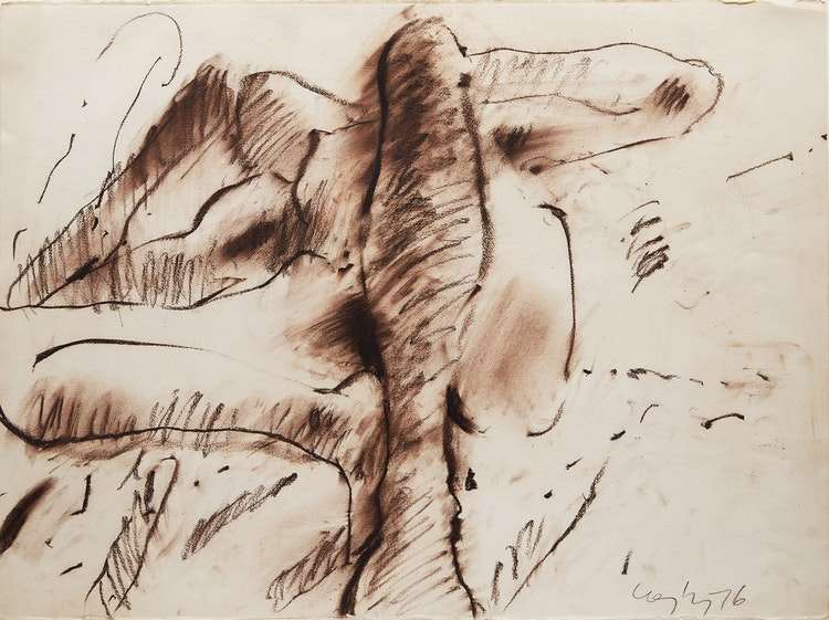 Artwork by John Graham Coughtry,  Abstract Figure