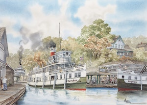 Artwork by Wentworth  Folkins, The 100 Mile Cruise