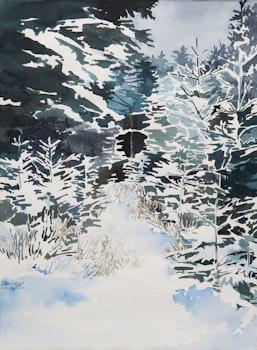 Artwork by Diana Dabinett, Winter Figment 3