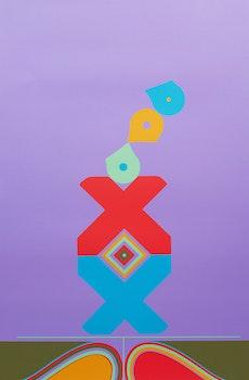 Artwork by Harold Barling Town, The Candy Juggler