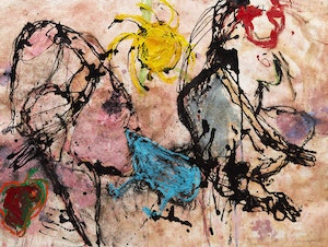 Artwork by Sylvia Safdie, Abstract Composition