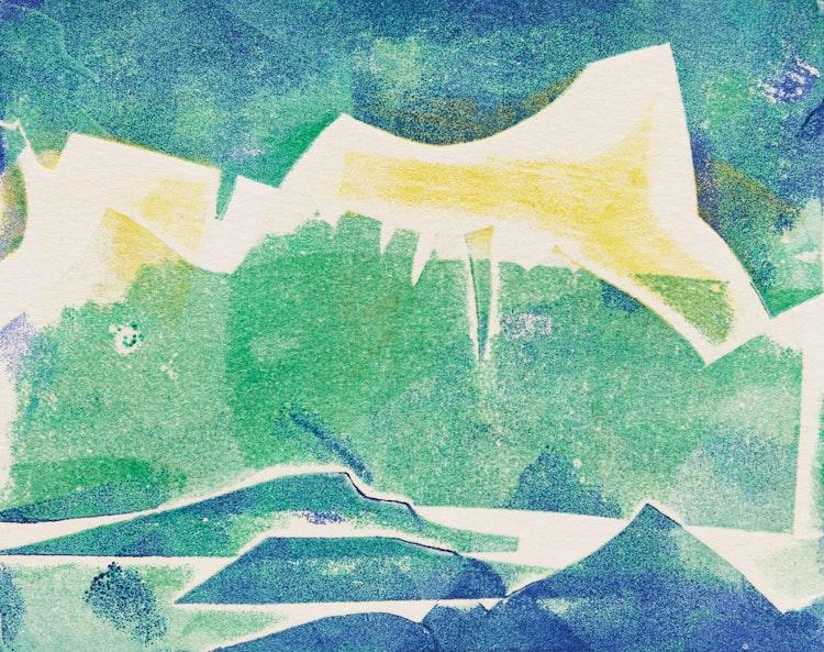 Artwork by Doris Jean McCarthy,  Arctic #2; Arctic Landscape; Fool's Paradise