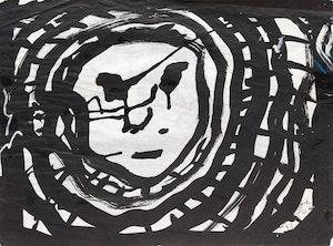 Artwork by John Scott, Ringed Face / Echo