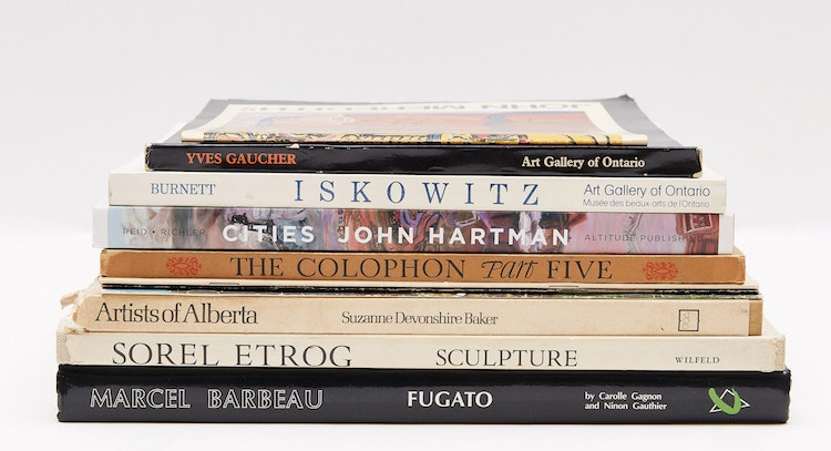 Artwork by  Books and Reference,  Eleven Books & Catalogues
