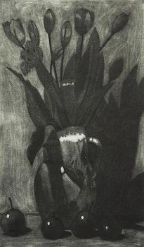 Artwork by Brian Kelley, Black Fruit