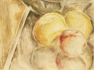 Artwork by Lionel LeMoine FitzGerald, Apples