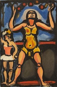 Artwork by Georges Rouault, Jongleur