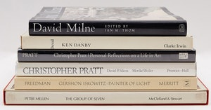 Artwork by  Books and Reference, Selection of 6 Books on Canadian Art