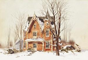 Artwork by Arto Yuzbasiyan, House in Ontario