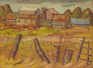 Artwork by Raymond Bourque, Hammond, Ontario