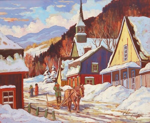 Artwork by Claude Langevin, Coming Home