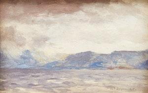 Artwork by William Brymner, The Cape Breton Coast