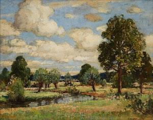 Artwork by Richard Jack, Summer Landscape