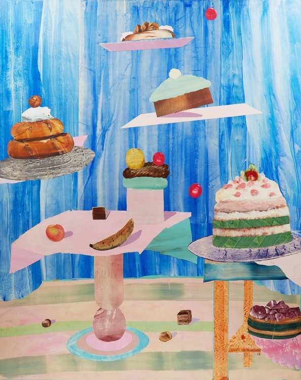 Artwork by Louis de Niverville,  Untitled (Cake Display)