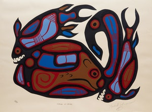 Artwork by Norval Morrisseau, Nature of Things