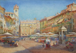 Artwork by Emily Mary Bibbens Warren, Verona