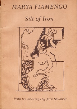 Artwork by  Books and Reference, Silt of Iron, With Ten drawings by Jack Shadbolt