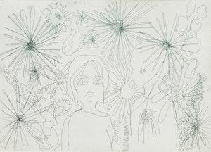 Artwork by Candice Jarmaise, Jardin