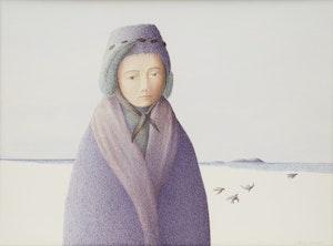 Artwork by Antoine Prévost, On the Beach