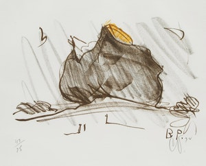 Artwork by Claes Oldenberg, Baked Potato with Butter