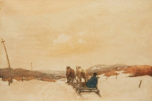 Artwork by Frederick Simpson Coburn, Heading Out