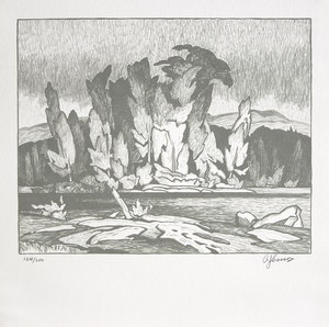 Artwork by  Books and Reference, A.J. Casson: Roberts Gallery