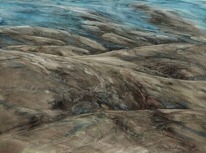 Artwork by Geoffrey Armstrong, Shoreline Landscape