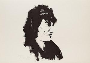 Artwork by Harold Barling Town, Mick Jagger