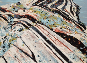 Artwork by Edward John Bartram, Rockscape #8