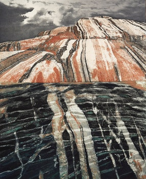 Artwork by Edward John Bartram, Beneath the Surface #1