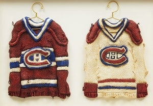 Artwork by Patrick Amiot, Montreal Canadiens Jerseys (Home and Away)