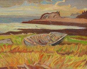 Artwork by Ralph Wallace Burton, Macey's Bay, New Brunswick