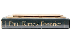 Artwork by  Books and Reference, Selection of Two books on Paul Kane and Canadian Journal of Industry, Science and Art