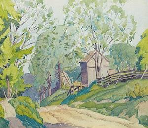 Artwork by Alfred Joseph Casson, Spring Lasky