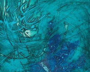 Artwork by Campbell Scott, Rough Seas